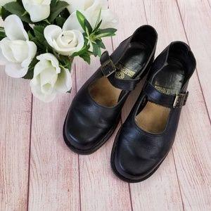 Dr Martens Mary Jane Shoes Leather Sz US 10 UK 8
